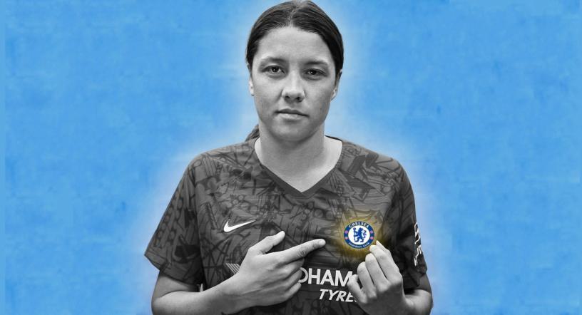 Sam Kerr a Chelsea jusqu'en 2022